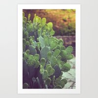 southwest Art Prints featuring Southwest Sunset by The Dreamery