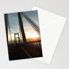 The Lake Maracaibo Bridge - III Stationery Cards