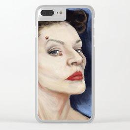 Little Darlings Clear iPhone Case