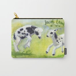 Jacob Lambs Carry-All Pouch