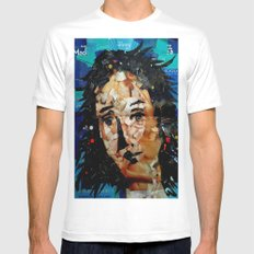 VENUSIAN COLLAGE Mens Fitted Tee White MEDIUM