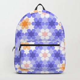 Stars and hexagons Backpack