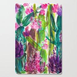 Fiesta Plants Cutting Board