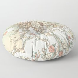 A Natural View (Life Before My Eyes) Floor Pillow