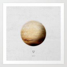 Element: Earth Art Print