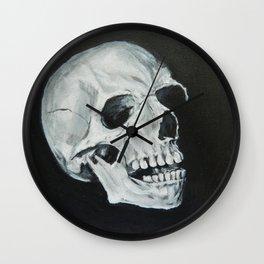 Dark Skull Wall Clock