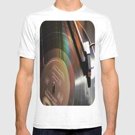 Vinyl Rainbow T-shirt