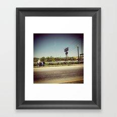 Walmart Framed Art Print