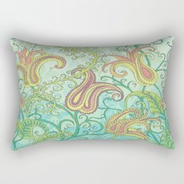 paisley garden Rectangular Pillow