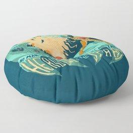 In Super Troidicolor Floor Pillow