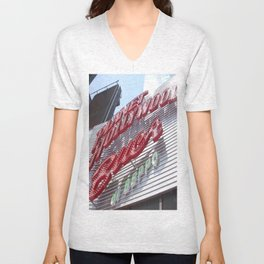 Welcome to the Big City Unisex V-Neck
