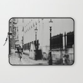 in the streets of Cambridge ... Laptop Sleeve