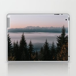 Faraway Mountains - Landscape and Nature Photography Laptop & iPad Skin