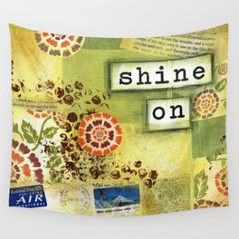 Shine on Wall Tapestry