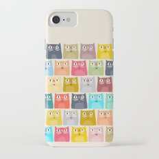 summer cats iPhone 7 Slim Case