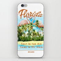 florida iPhone & iPod Skins featuring Florida by Omer Bintas