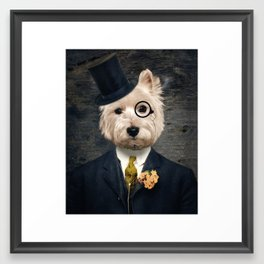 Sir Bunty Framed Art Print