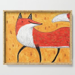 Sassy Little Fox Serving Tray