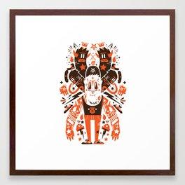 Newfren Monsters II Framed Art Print