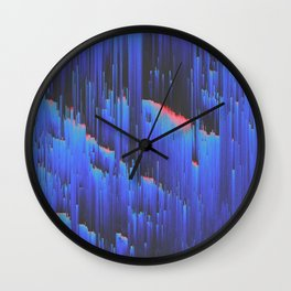 Creeping Melancholia Wall Clock