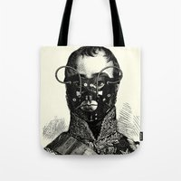 bdsm Tote Bags featuring BDSM XXVII by DIVIDUS