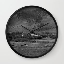 Park City Field Wall Clock