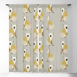 Whimsical Koala Blackout Curtain