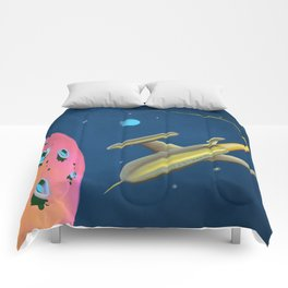 Fantastic Adventures in Outer Space Comforters