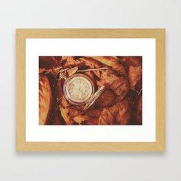 Escape of time Framed Art Print