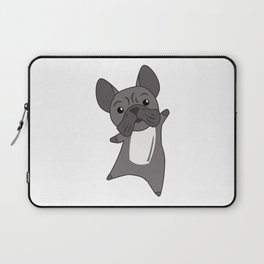 Dog French Bulldog Puppy Cute Dogs For Kids Laptop Sleeve