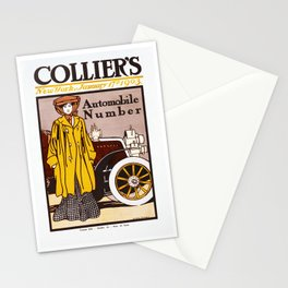 Collier's Automobile Number 1903 Stationery Cards