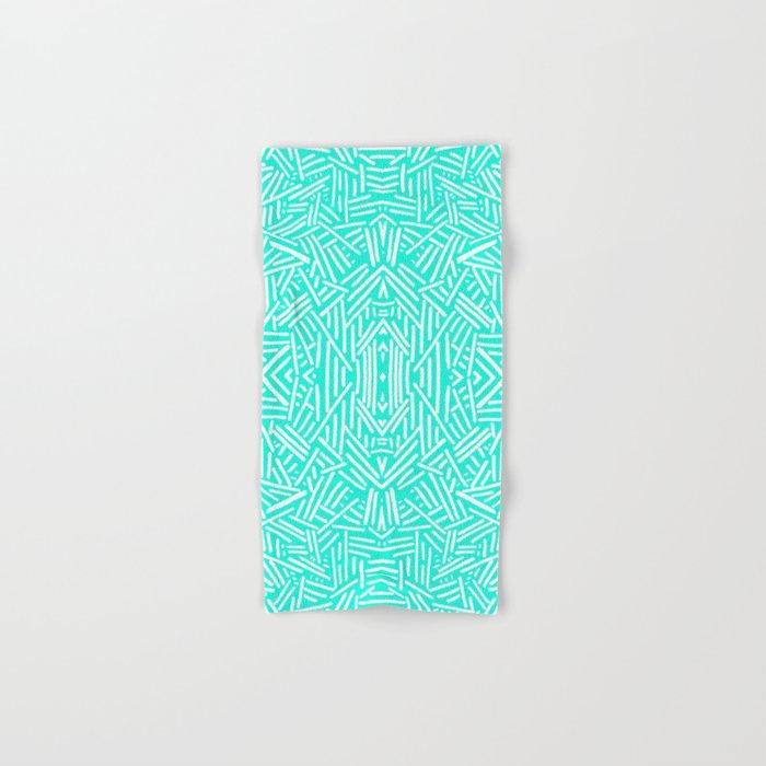 Radiate (Mint) Hand & Bath Towel