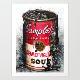 Cream of Vegetable Art Print