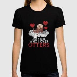 Otter Love Of Animals T-shirt