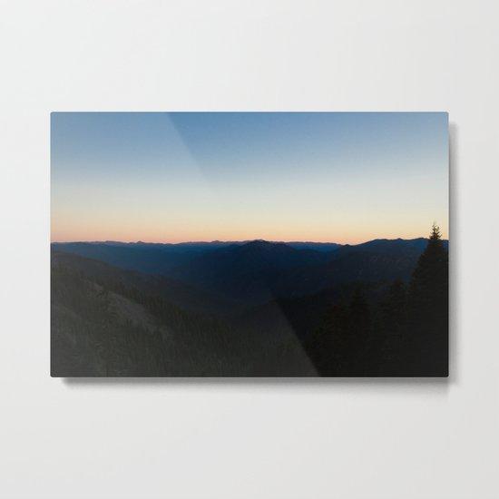 California Sunset Metal Print