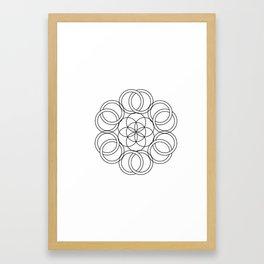 Sacredness Framed Art Print