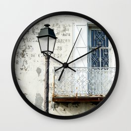 Old Town Antibes Ambiance Wall Clock