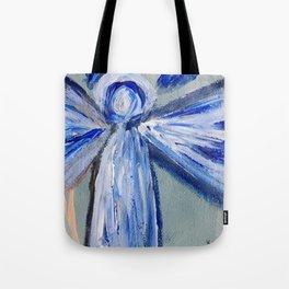 Impressionistic Angel Tote Bag