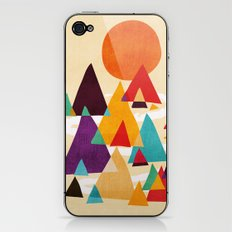 Let's visit the mountains iPhone & iPod Skin