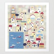 Halki Art Print