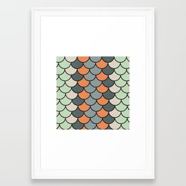 Planted Color Framed Art Print