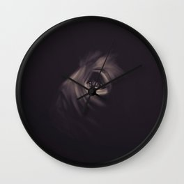 Empty eye Wall Clock