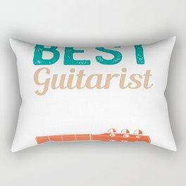 Best Guitarist Ever Rectangular Pillow