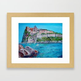 The Aragonese Castle Framed Art Print