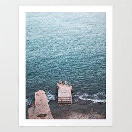 Pier Pressure Art Print