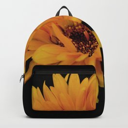 Yellow flower Backpack
