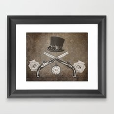 Steampunk or Death Framed Art Print