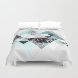 Graphic 110 (Turquoise Version) Duvet Cover