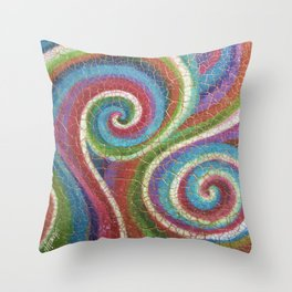 Fragile Soul Throw Pillow