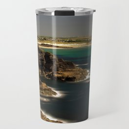 Trevose Head to Constantine Bay, Cornwall, UK Travel Mug